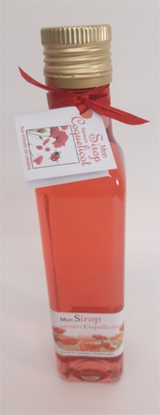 Sirop  saveur Coquelicot 25cl