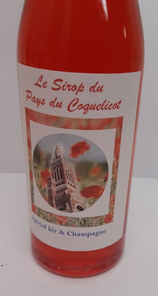 Sirop coquelicot 50 cl